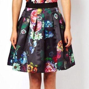 Ted Baker Full Skirt in Allover Floral